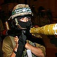 Hamas gunman (archives) Photo: AFP