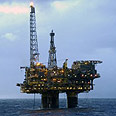 Gas drilling site at sea (archive) Photo: AFP