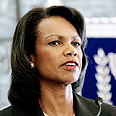 Condoleezza Rice, priest's daughter Photo: AFP