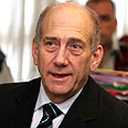 Olmert - talks with Syria? Photo: Gil Yohanan