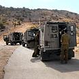 IDF forces near Lebanese border Photo: Avihu Shapira