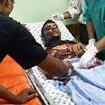 Man injured in Beit Hanun in hospital (Photo: AFP) Photo: AFP