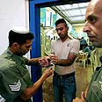 Preparing for transfer of prisoners to West Bank Photo: Reuters