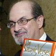 Rushdie with 'Satanic Verses' book Photo: Reuters