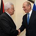 Abbas, Olmert Photo: GPO