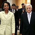 Rice and Abbas Photo: AP
