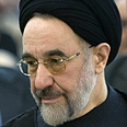 Khatami. Won't be stopped Photo: Reuters