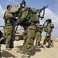 IDF soldiers near Gaza Photo: Reuters