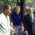 Sadat (L), Carter (M) and Begin Photo: GPO