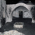 Joseph's Tomb, before cleanup Photo: IDF Spokesperson Unit