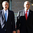 Bush and Olmert (archive) Photo: AFP