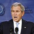 'President Bush your Road Map is illegal' Photo: Reuters