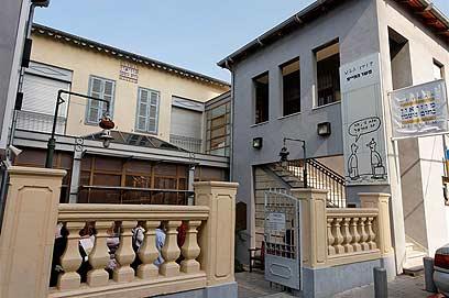 מוזיאון נחום גוטמן (צילום: חנן ישכר)
