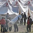 Refugee camp Photo: AP