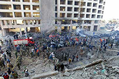 The scene of the 2005 bombing (Photo: AFP) (Photo: AFP)
