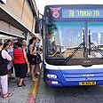 Public transportation on Shabbat Photo: Dudu Azoulay
