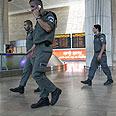 High alert at Ben-Gurion Airport Photo: Ohad Zwigenberg