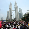 Kuala Lampur residents march for election reforms on July 9 Photo: AFP
