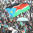 Celebrating in South Sudan Photo: AFP