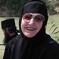 Pilgrims at holy site, Tuesday Photo: Ziv Reinstein