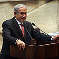 Netanyahu.'I'm against all boycotts' Photo: Ohad Zwigenberg