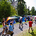 Utoya camp Photo: EPA