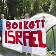 Anti-Israel sign in youth camp