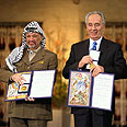 Peres and Arafat enter therapy together? Photo: Getty Images