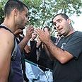 Clashing in Tel Aviv Photo: Ofer Amram