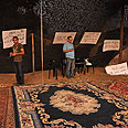 Joining the escalating protest. Baqa al-Gharbiyye Photo: George Ginsburg