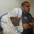 Suspect in court. Visited yeshiva several times Photo: Herzl Yosef