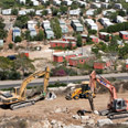 Settlement construction Photo: AFP