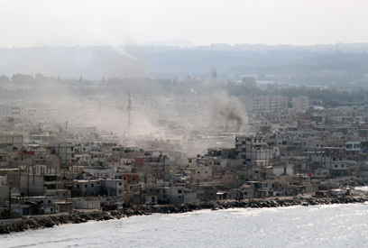 Latakia under fire (Archive) (Photo: AFP)
