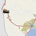 Location of 392 bus attack Photo: Atlas