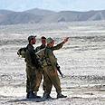 Soldiers near Eilat Photo: Eliad Levy