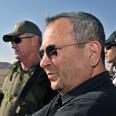 Apologized. Barak Photo: Ariel Hermoni, Defense Ministry