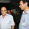 Shaul Mofaz visits Soroka hospital Photo: Herzel Yosef