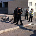Location of rocket hit in Ashdod Photo: Avi Rokach