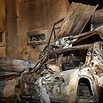 Damage from rocket attack in Beersheba Photo: Ohad Zoigenberg