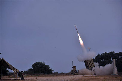Iron Dome missile defense system (Photo: Avi Roccah)