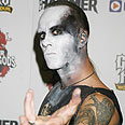 Darski. Uses stage name 'Nergal' as Babylonian god Photo: Getty Images