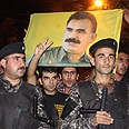 Kurds in Iraq with Ocalan banner (archives) Photo: AFP