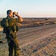 IDF soldier near Egypt border Photo: IDF Spokesman