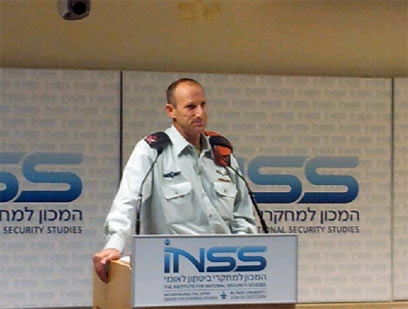 IDF Home Front Command Chief, Major General Eyal Eisenberg (Photo: Yoav Zitun)
