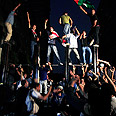 Egyptians storm embassy Photo: Reuters