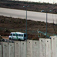 West Bank barrier Photo: Reuters