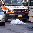 cene of accident Photo: Ofer Amram