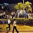 Haredi protest in Beit Shemesh Photo: Ben Kelmer