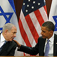 Obama with Prime Minister Benjamin Netanyahu Photo: Avi Ohayon, GPO