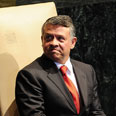 King Abdullah of Jordan at UN Photo: AFP